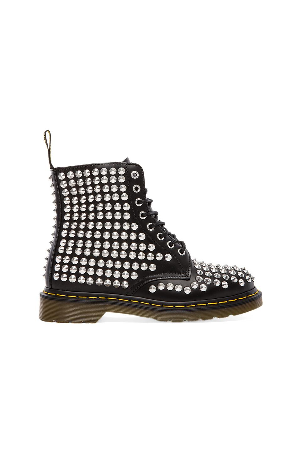 Dr. Martens Spike All Stud 8-Eye Boot in Black