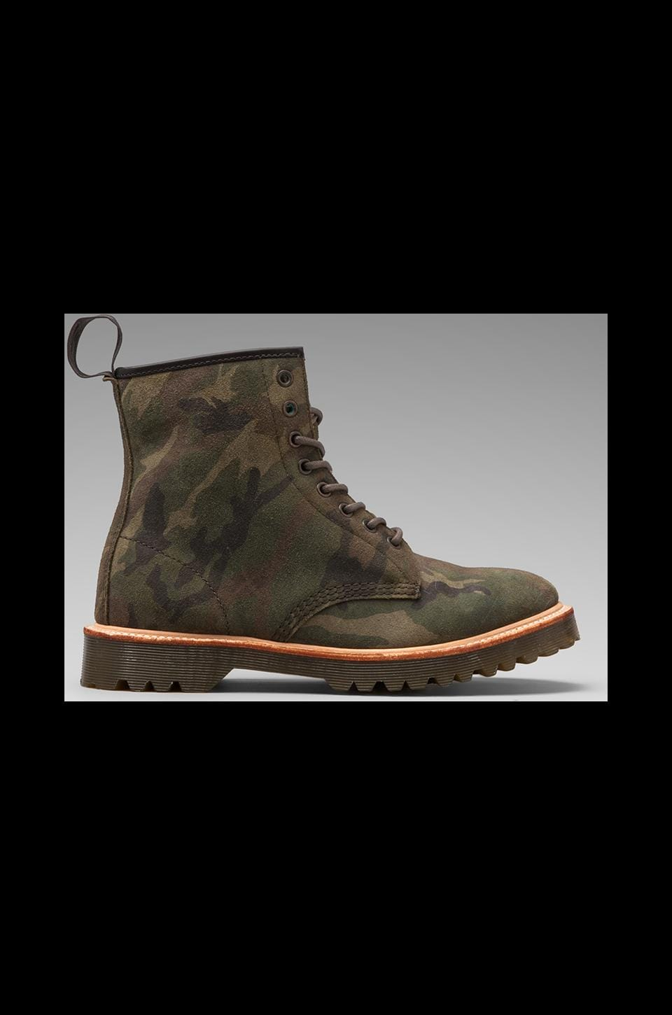 Dr. Martens 1460 8-Eye Boot in Camo Brown