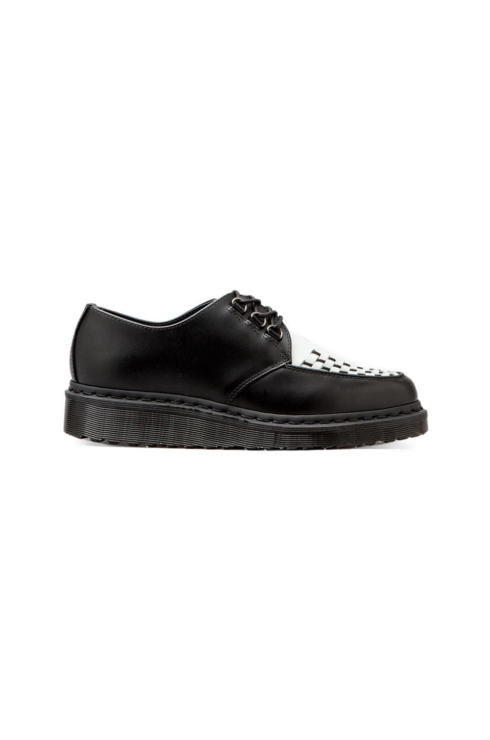 Dr. Martens Beck Creeper in Black & White