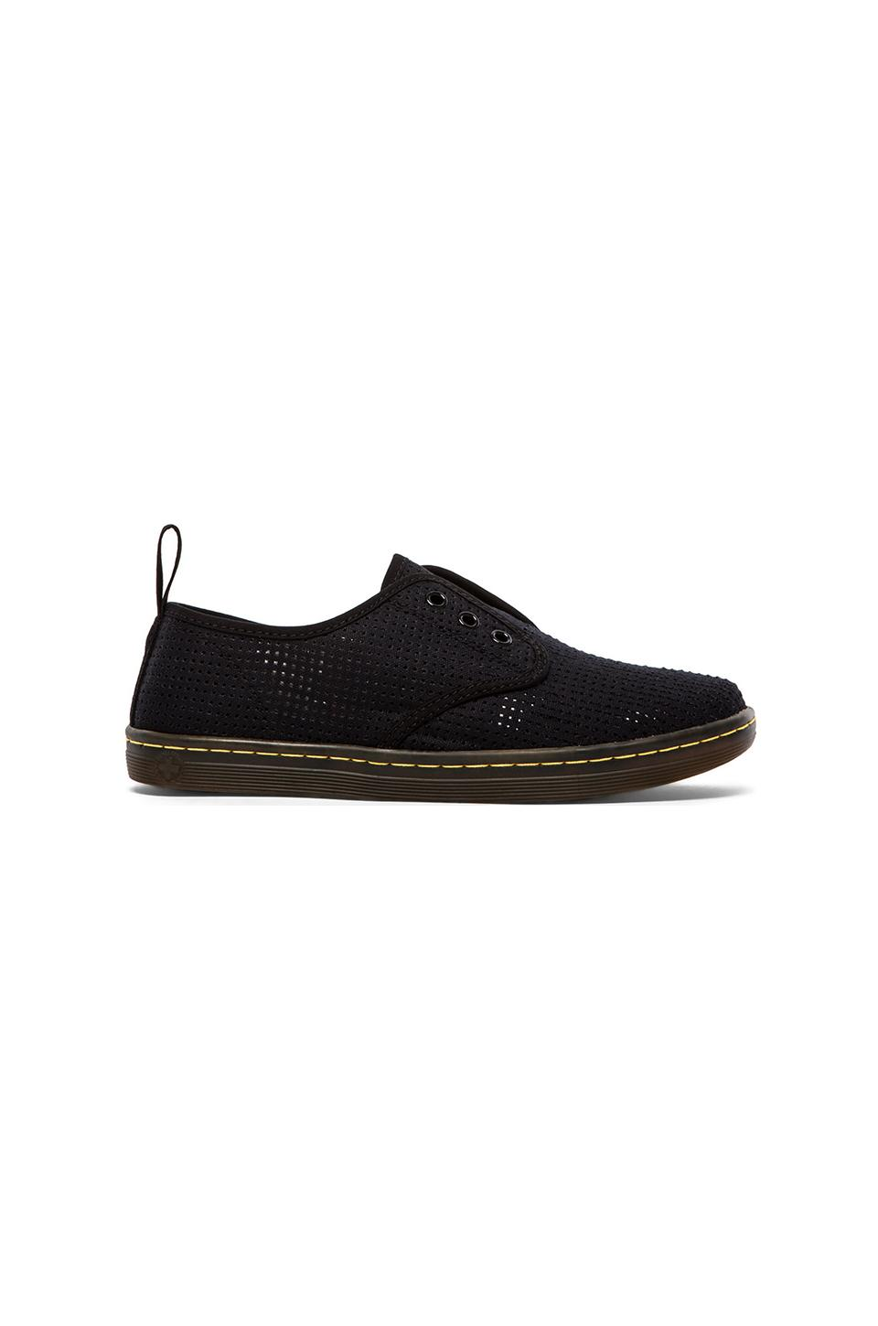 Dr. Martens 3-Eye Ade Elastic Slip On in Black