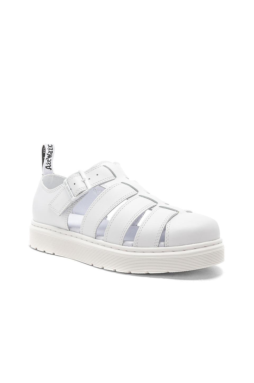 Dr. Martens Vibal Sandal in White