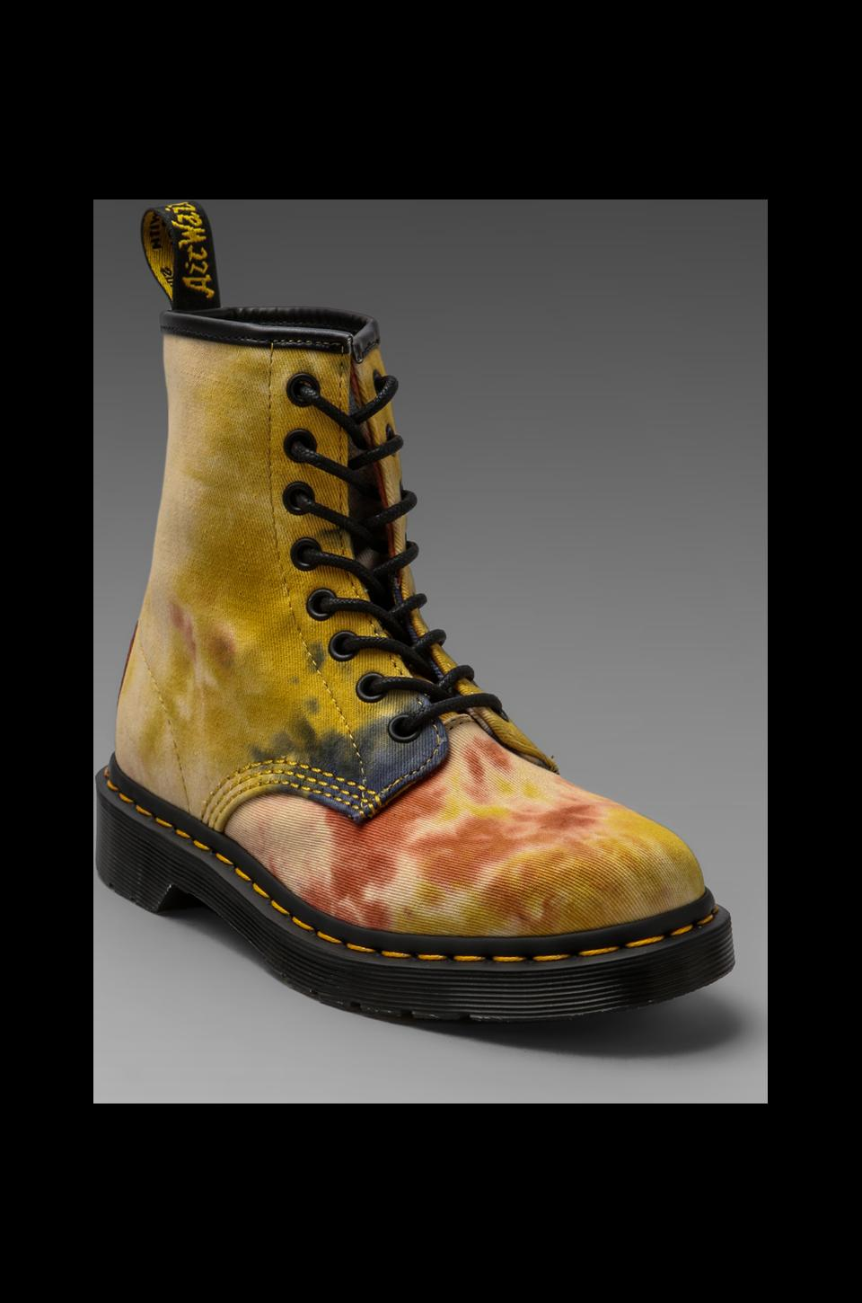 Dr. Martens Castle 8-Eye Boot in Acid Tye Dye Multi