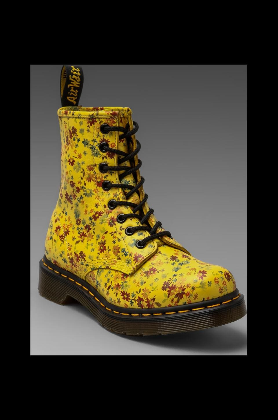 Dr. Martens 8-Eye Boot in Sun Yellow