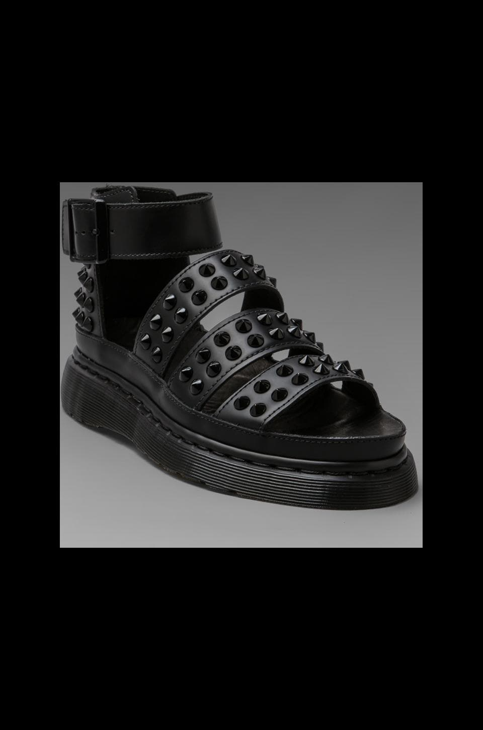 Dr. Martens Liza Studded Sandal in Black