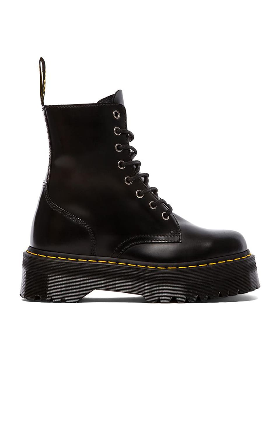 Dr. Martens Jadon 8-Eye Boot in Black
