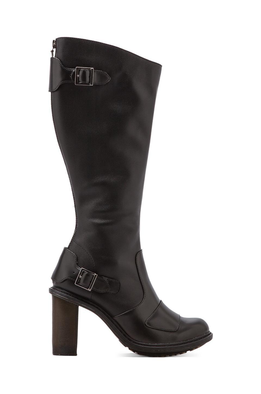 Dr. Martens Ava Biker Boot in Black