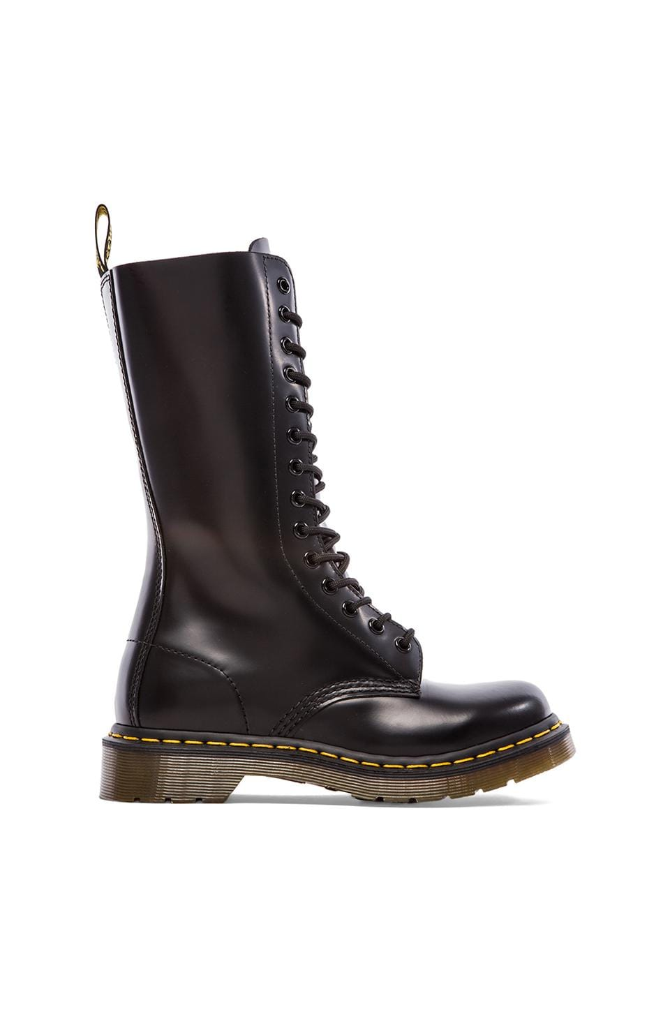 Dr. Martens 1914 W 14-Eye Boot in Black