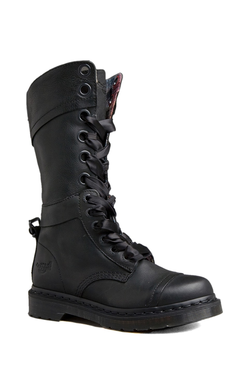Dr. Martens Triumph 1914 14 Eye Boot in Black