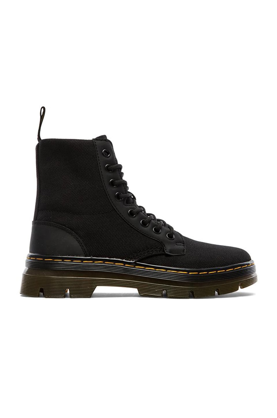 Dr. Martens Combs Fold Down Boot in Black