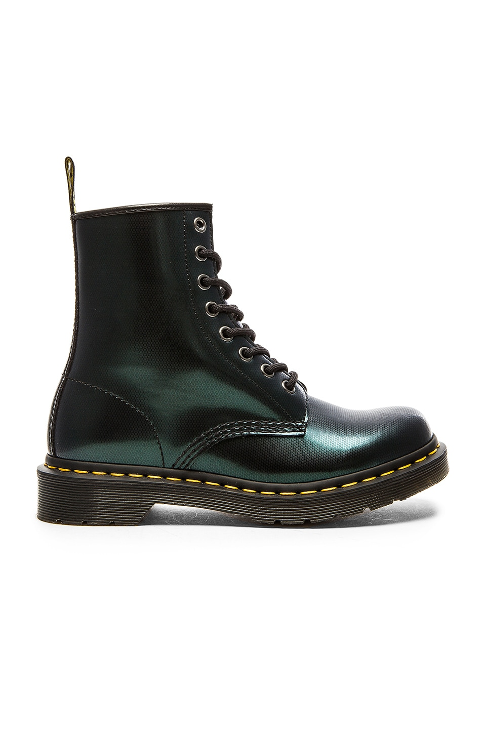 Dr. Martens 8 Eye Boot in Green