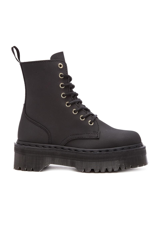 Dr. Martens Jadon 8-Eye Boot in Black Ajax