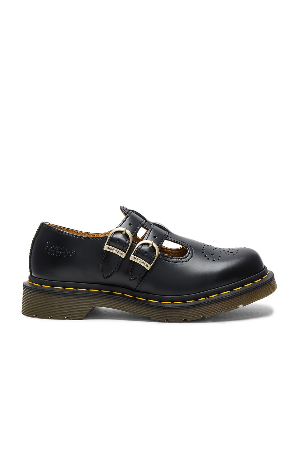 Dr. Martens Mary Jane Flats in Black