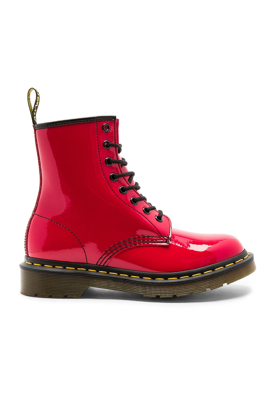 Dr. Martens 1460 3 Eye Boots in Red