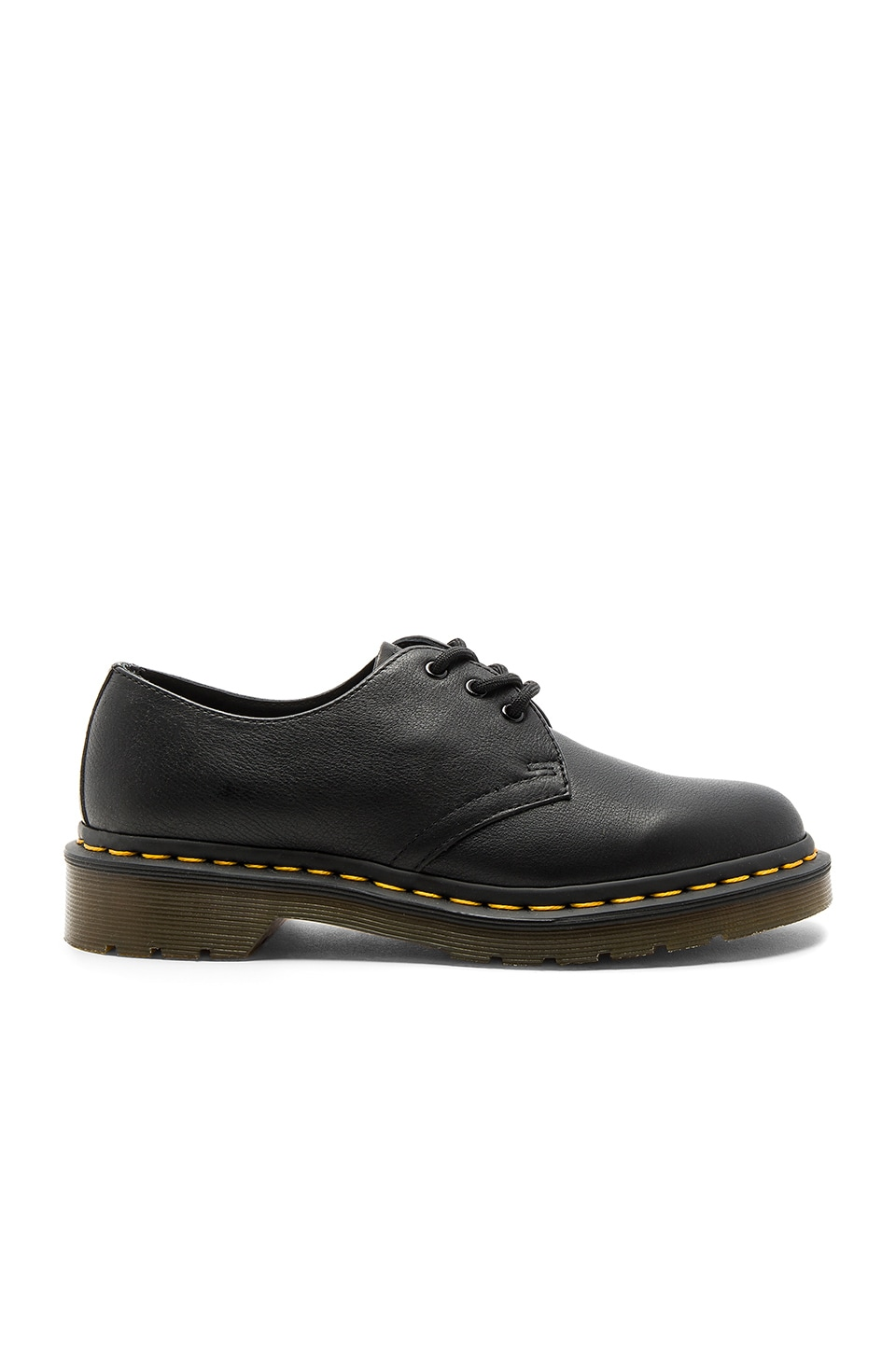 Dr. Martens 1461 3 Eye Flats in Black