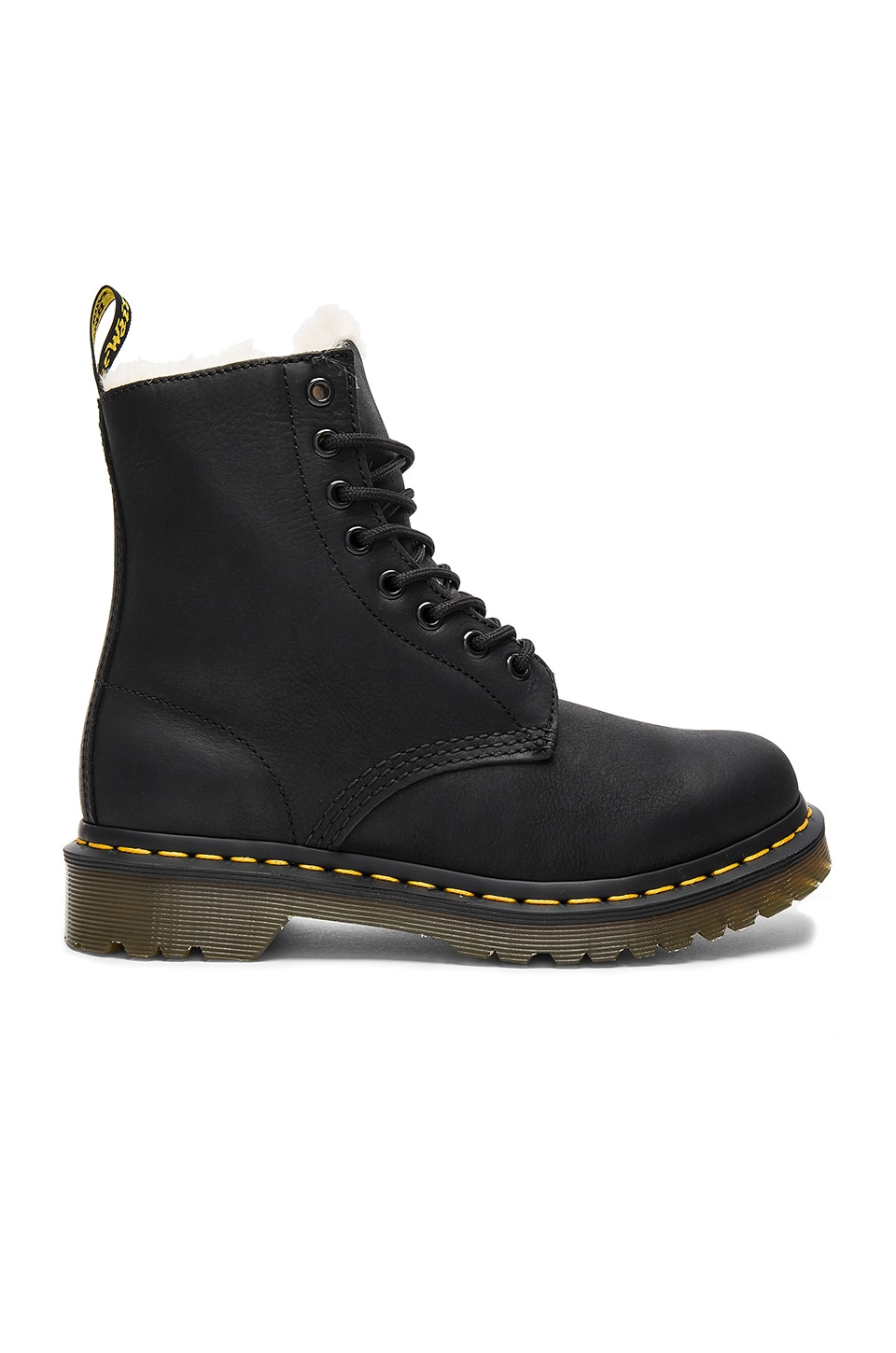 Dr. Martens Serena 8 Eye Boots in Black