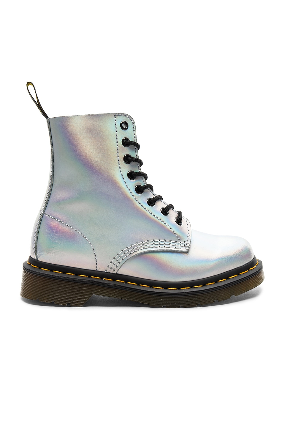 Dr. Martens Pascal IM Boot in Silver Lazer