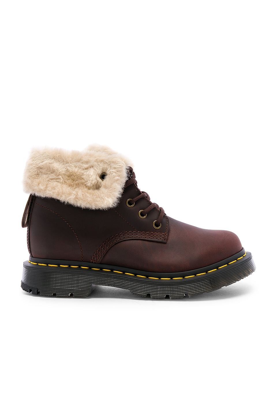 Dr. Martens 1460 Kolbert Snowplow Boot in Curry