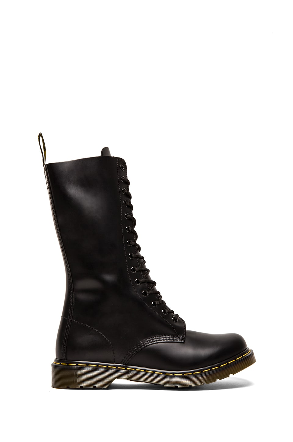 Dr. Martens Iconic 14 Eye Boot in Black