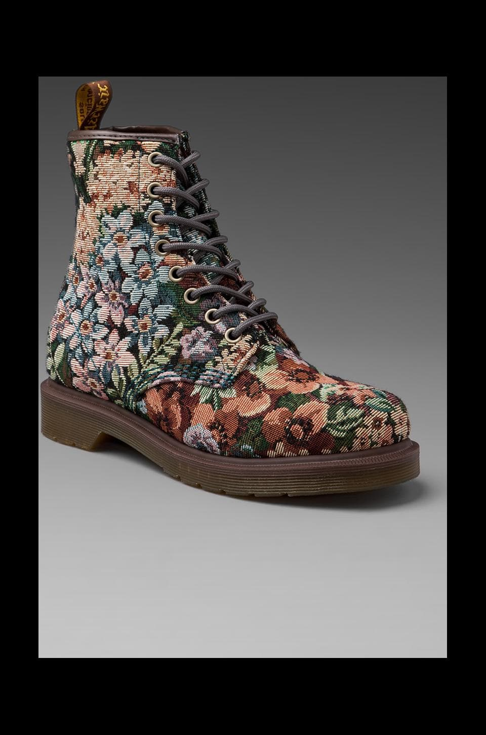 Dr. Martens Castle Needlepoint 8-Eye Boot in Multi