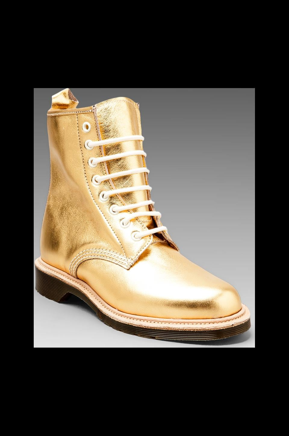 Dr. Martens Mie 1460 8 Eye Boot in Gold