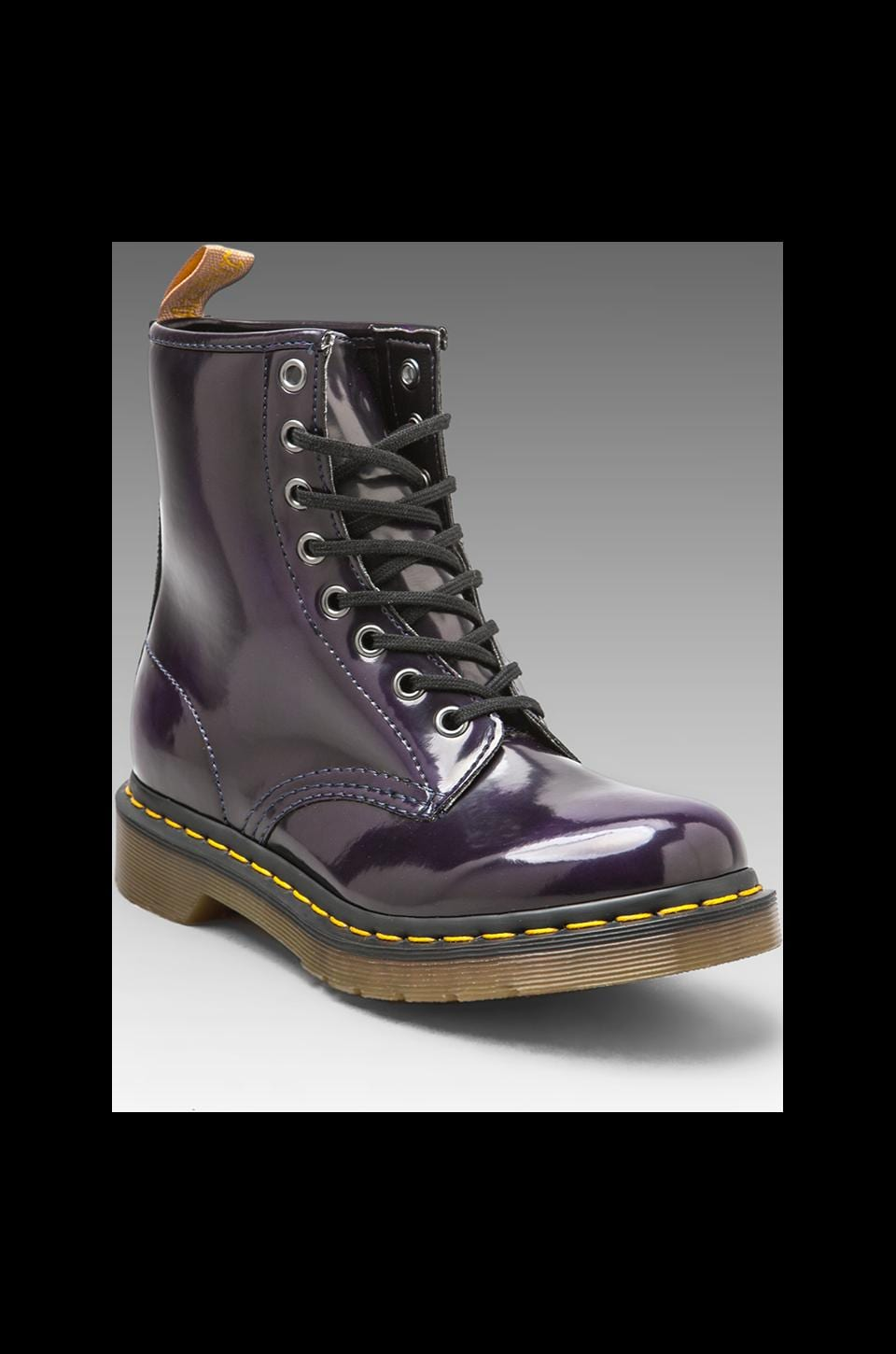 Dr. Martens Vegan 1460 8 Eye Boot in Purple Violet