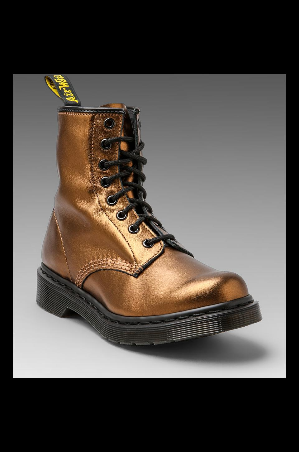 Dr. Martens 8-Eye Boot in Bronze