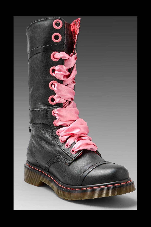 Dr. Martens Triumph 14-Eye Boot in Black