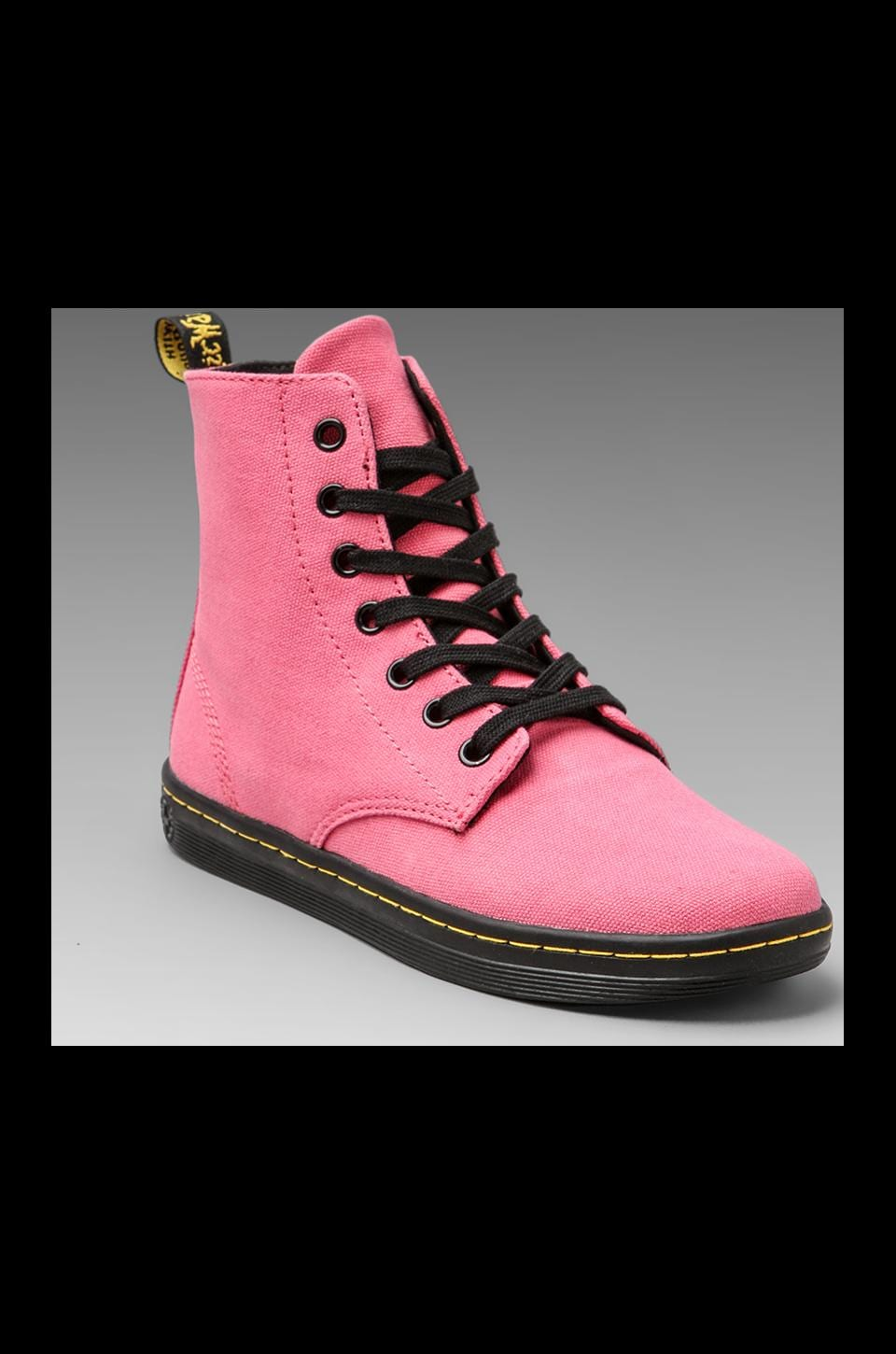Dr. Martens Hackney 7-Eye Boot in Acid Pink