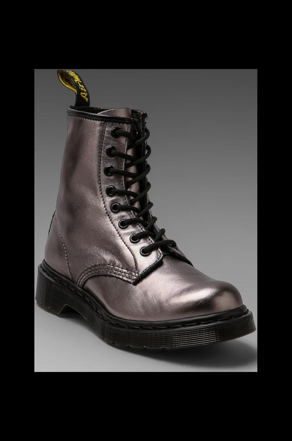 Dr. Martens 8-Eye Boot in Pewter