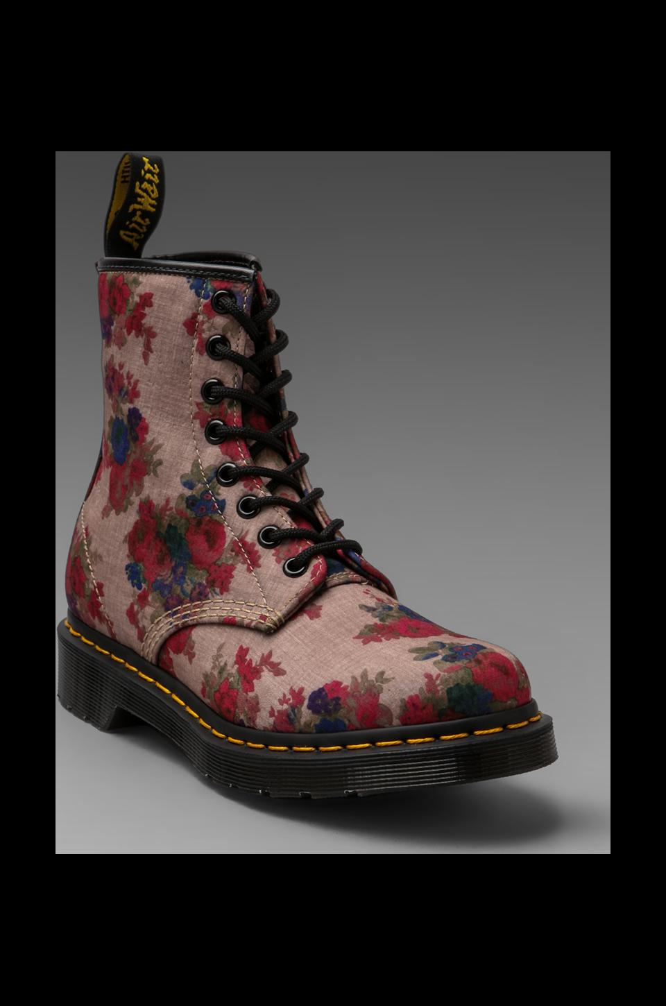 Dr. Martens 8-Eye Boot in Floral Taupe