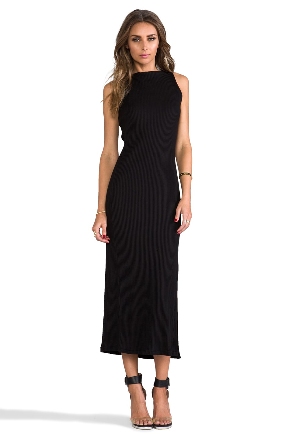David Michael Helix Dress in Black