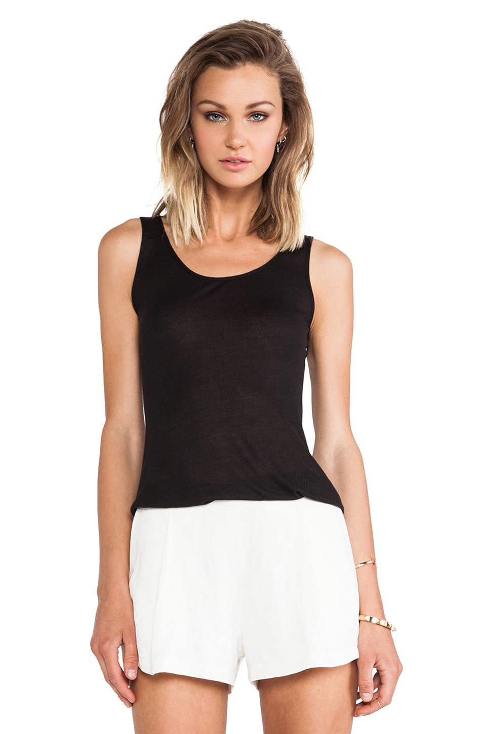 David Michael Girl Tank in Black