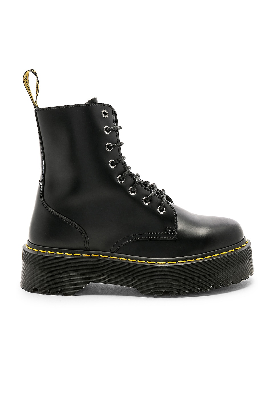 Dr. Martens Jadon Fusion Smooth Boot in Black