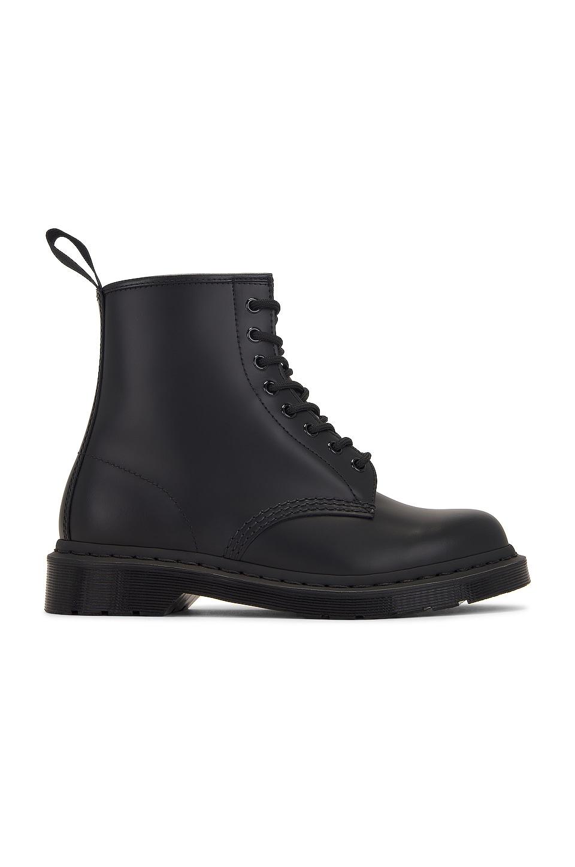 Dr. Martens 1460 8-Eye Mono Boot in Black Mono