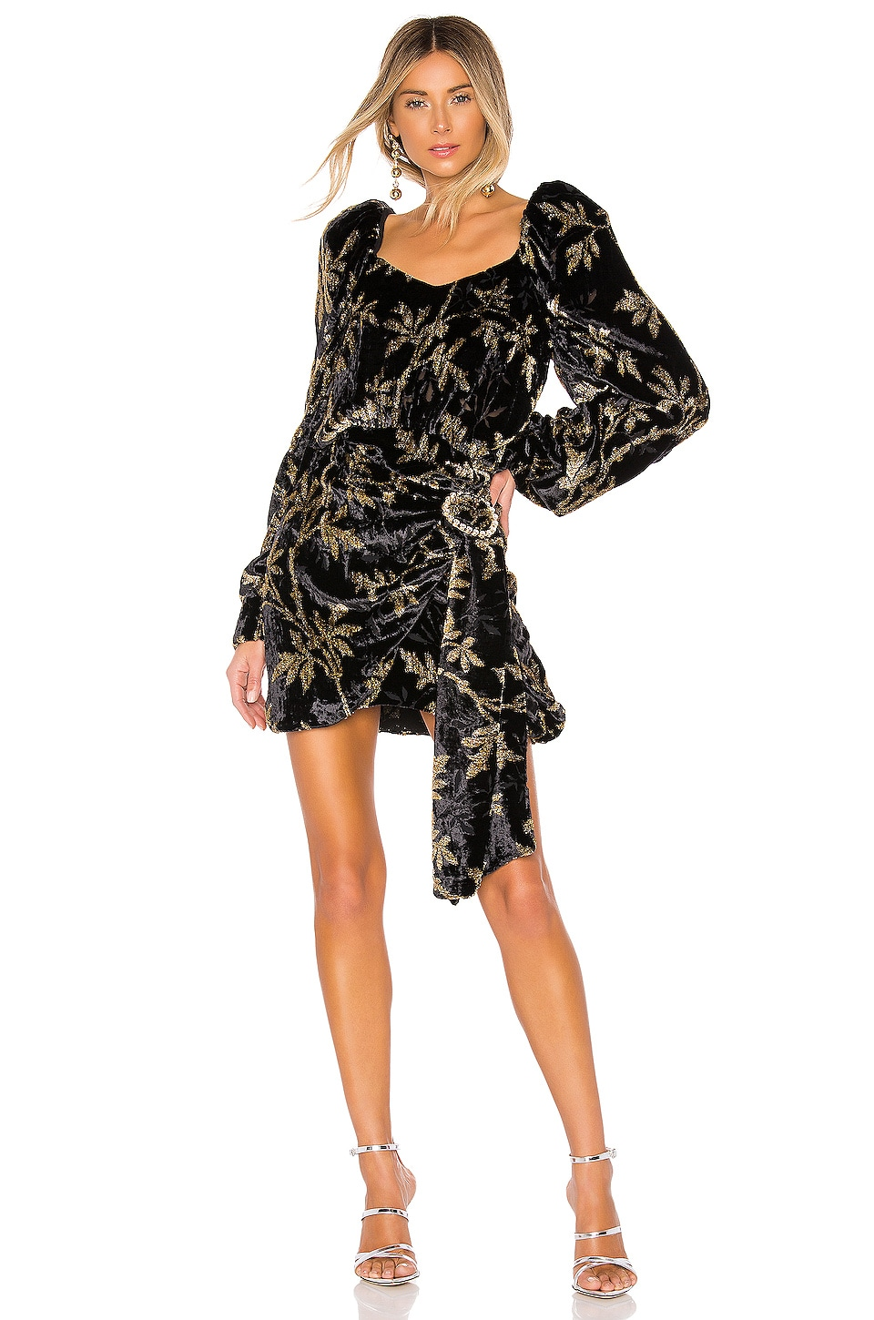 Dodo Bar Or Mona Dress in Black