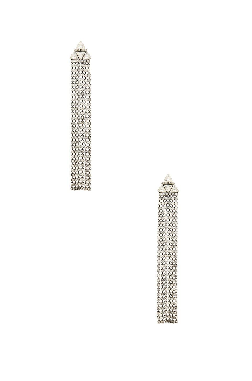 Dodo Bar Or Clarissa Earrings in Silver