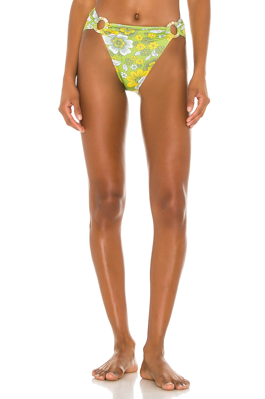 Dodo Bar Or Erica Bikini Bottom in Green Flower