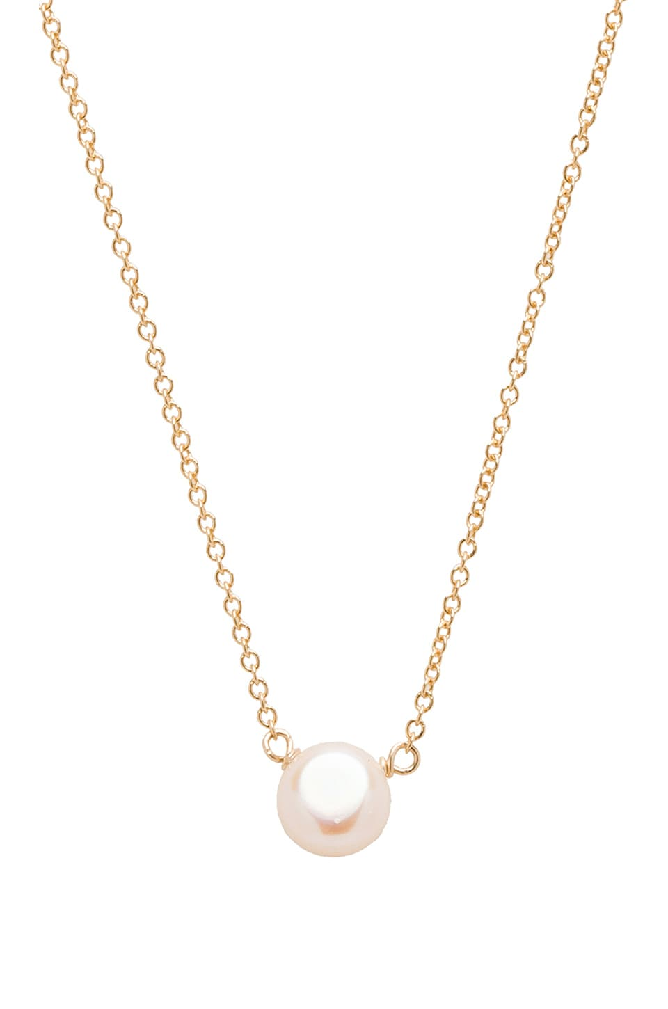 Dogeared Pearls of Friendship Necklace in Gold