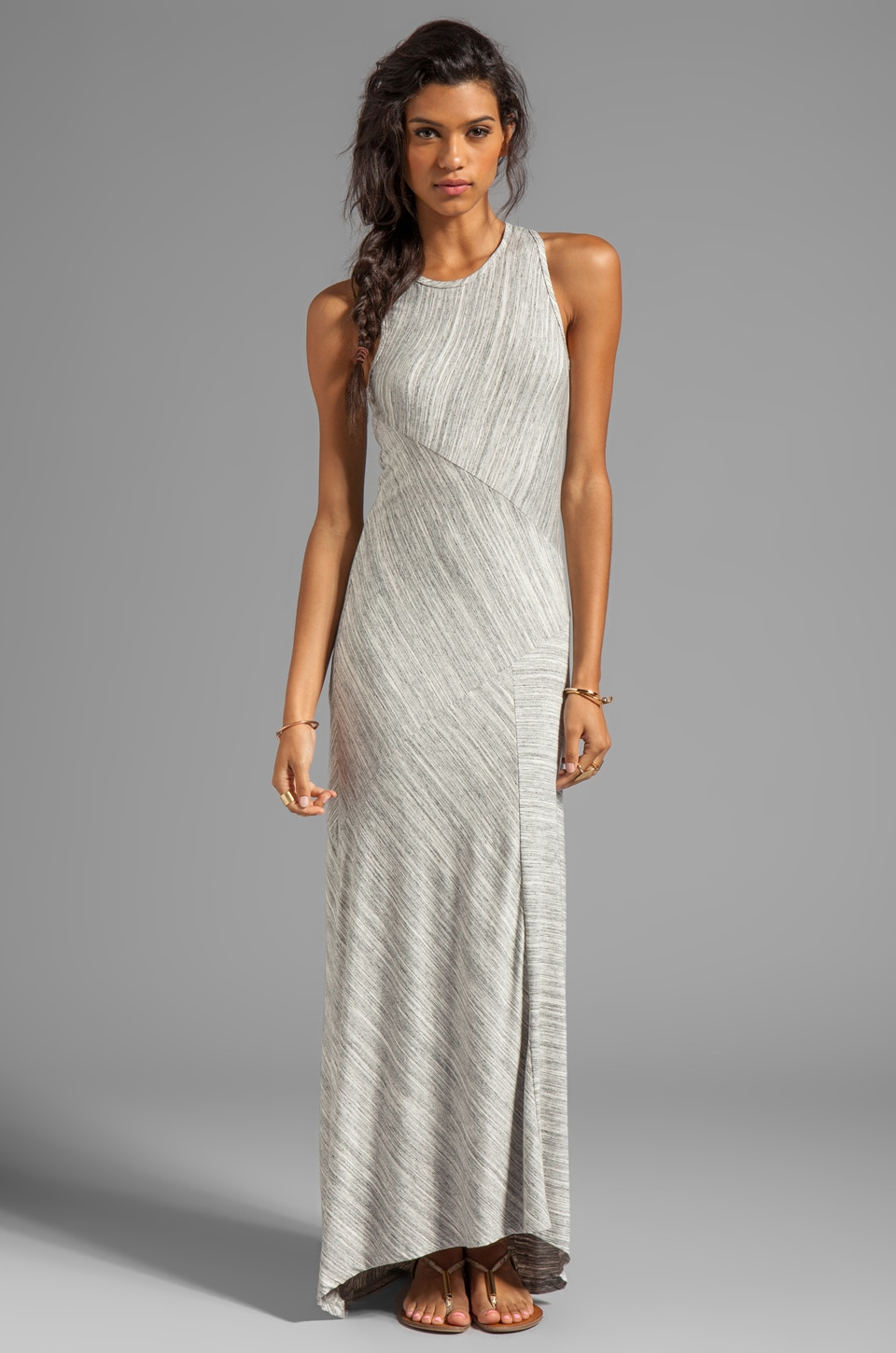 dolan Classic Club Maxi Dress in Marble