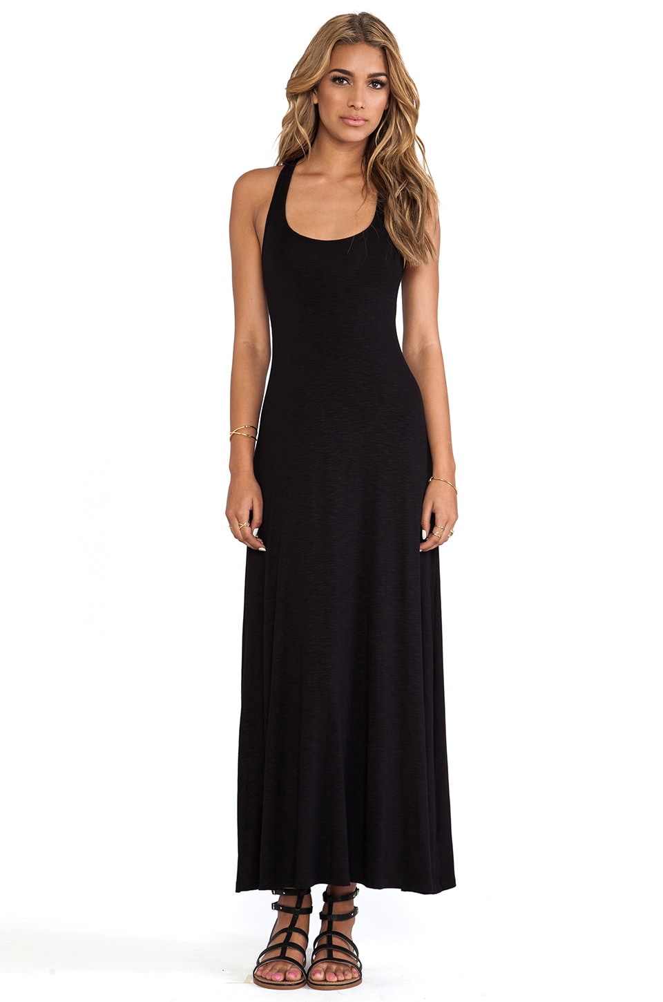 dolan Tank Maxi Dress in Black