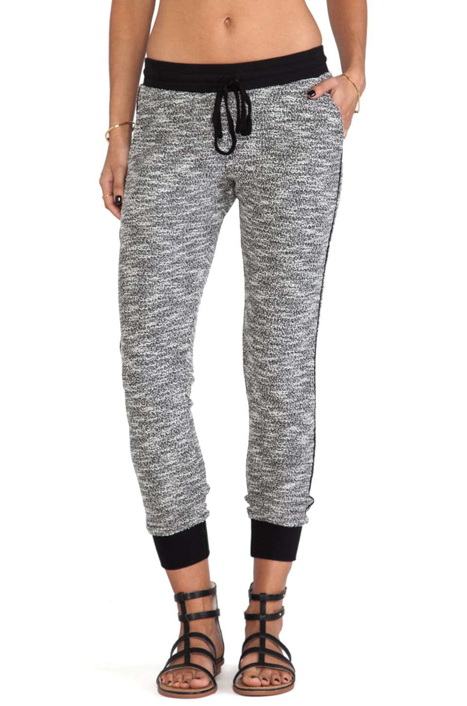 dolan Slash Pocket Sweatpant in Mixed Terry