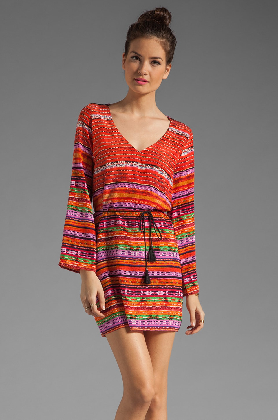 Dolce Vita Karita Dress in Red Multi