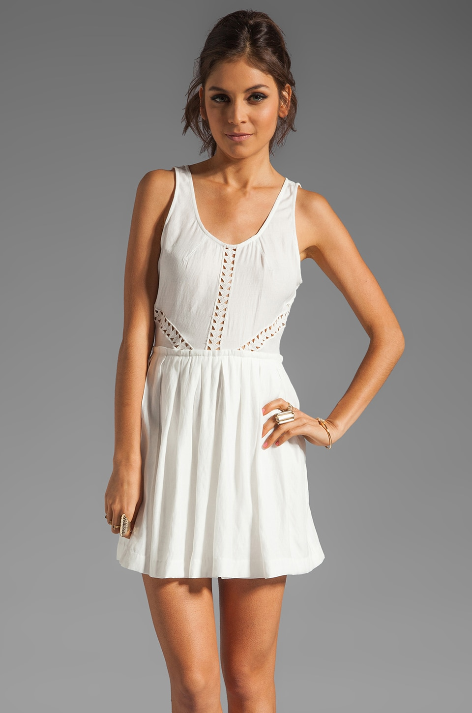 Dolce Vita Konomi Dress in White