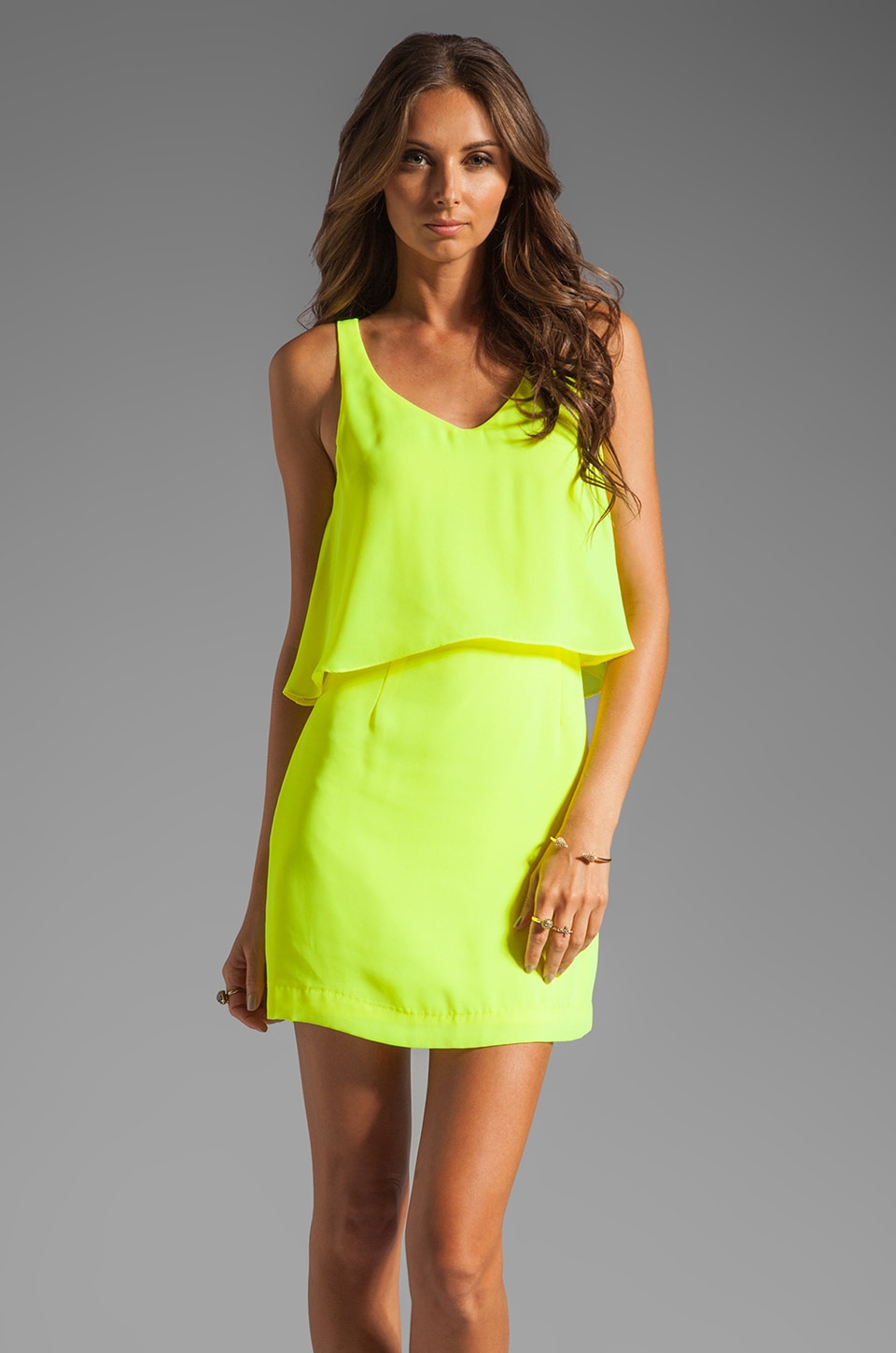 Dolce Vita Mollas Dress in Yellow