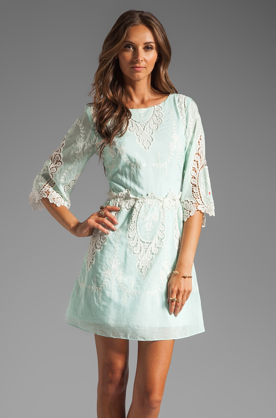 Dolce Vita Nella Dress in Mint