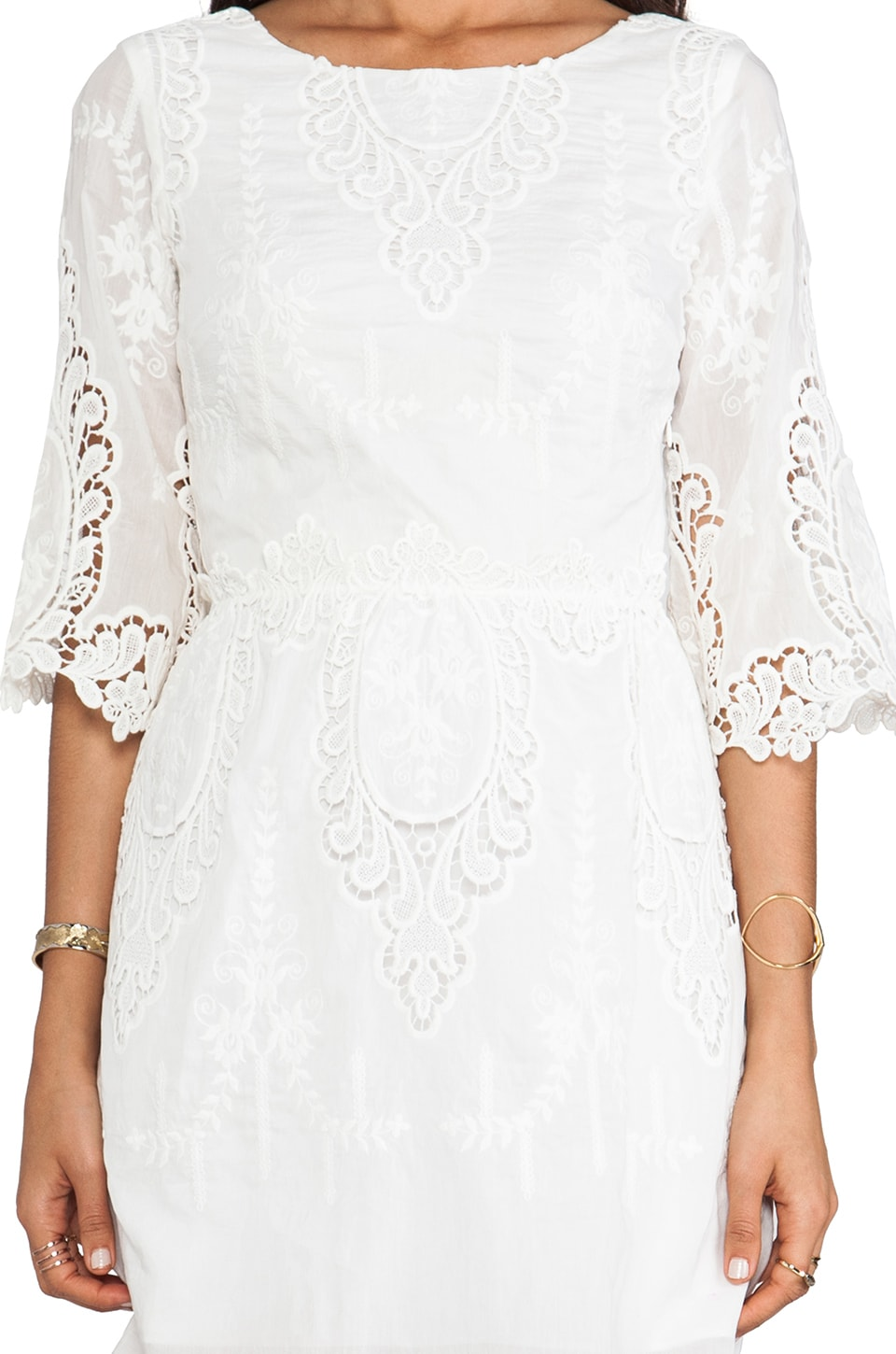 Dolce Vita Nella Dress in White
