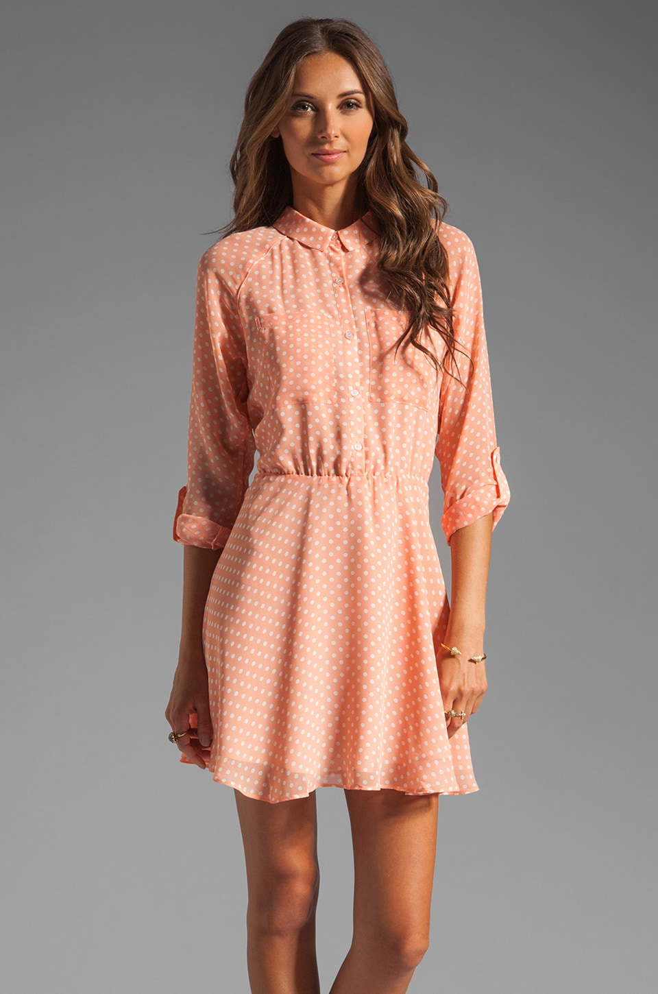 Dolce Vita Agata Dress in Coral
