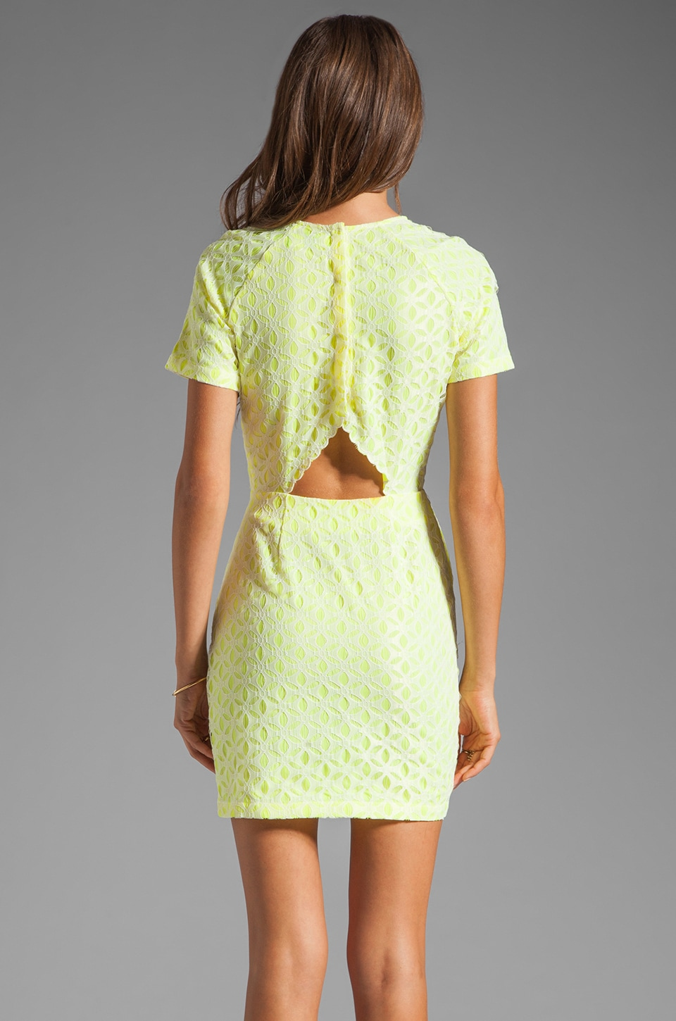 Dolce Vita Ritsa Dress in Cream/Yellow