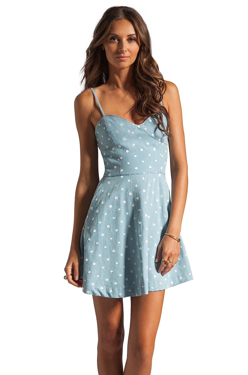 Dolce Vita Rosina Dress in Light Blue