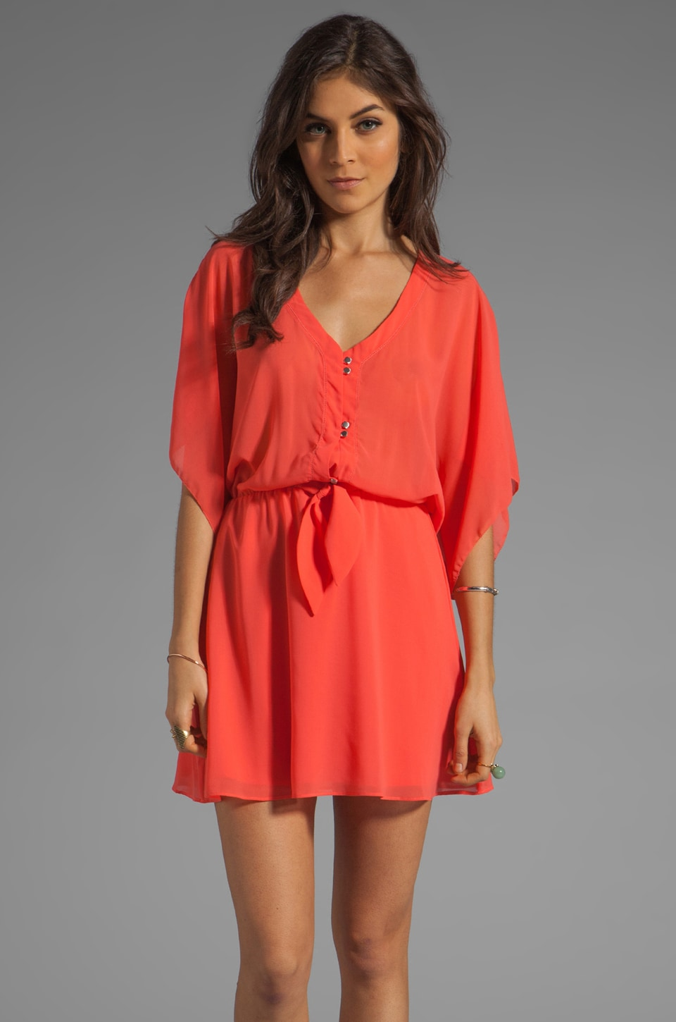 Dolce Vita Maile Dress in Coral